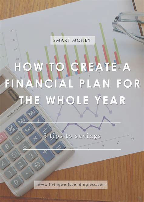 create  financial plan   year savings tips