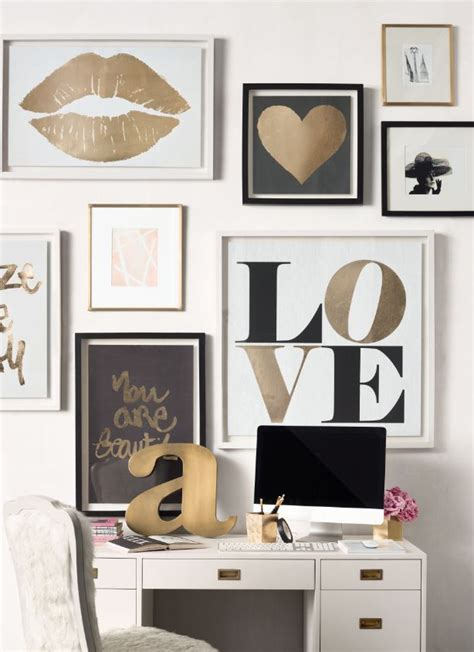 home wall decor and accents best 25 gold wall decor ideas on pinterest modern wall