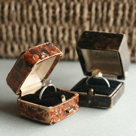 vintage ring boxes when two become one vintage ring