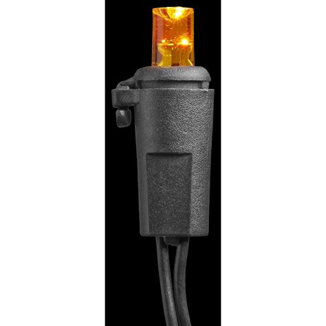 home accents lights home accents 20 light led orange concave battery