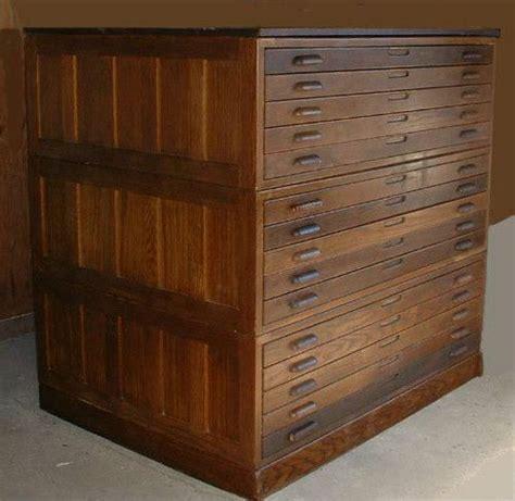 antique map file cabinet flat file cabinet antique wood plan map blueprint