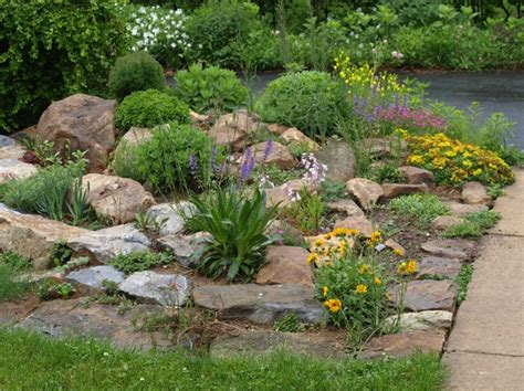 Rock Garden Front Yard Rock Garden Ideas Flower Photograph List Of Plants We Grow