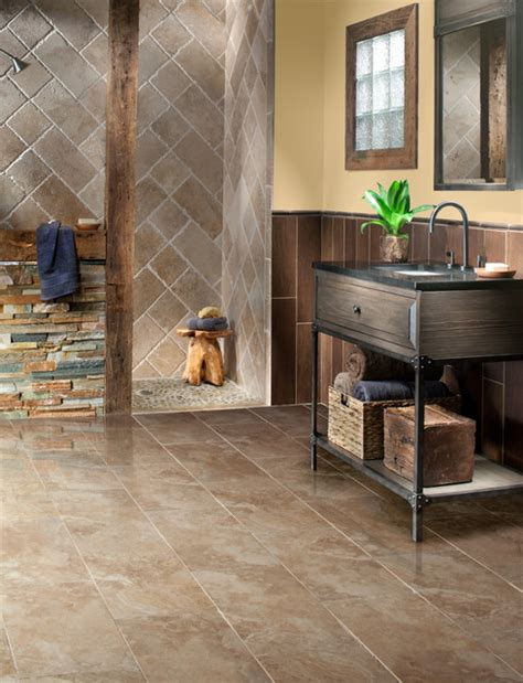 rustic bathroom flooring rustic bathroom flooring gurus floor