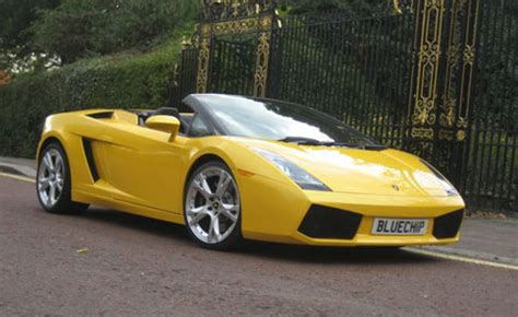 Uk Lamborghini Lamborghini Roadster Hire Blue Chip Car Hire