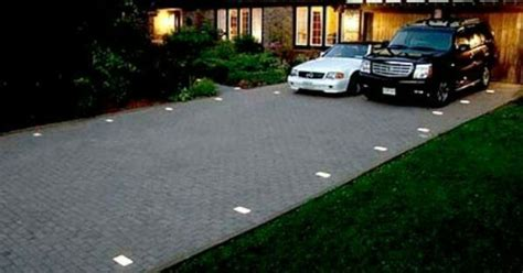 ground lights for driveways 26 best backyard patio materials images on pinterest