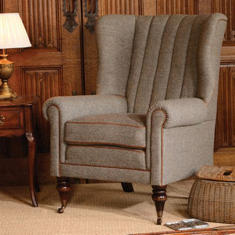 Tetrad Upholstery by Tetrad Upholstery Harris Tweed Dunmore Chair