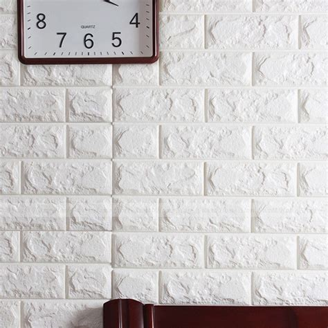 Three Season Porch by 3d Brick Pattern Wallpaper Modern Wall Background Tv