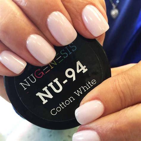 powder nail color soft white pale pink hue nail color dip powder
