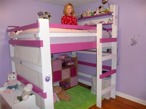 loft beds for girls build girls loft beds wonderful girls loft beds