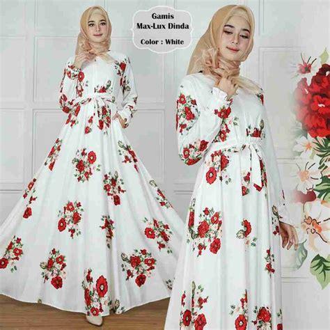 12 Norlic Batwing Bordir Putih baju gamis syari terbaru maxmara dinda gamissyari net