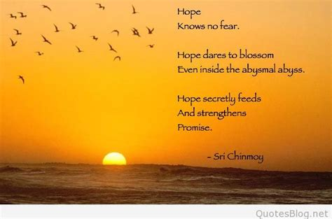 nice hope message