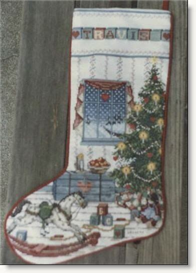 northwoods christmas stocking pattern appeared in the
