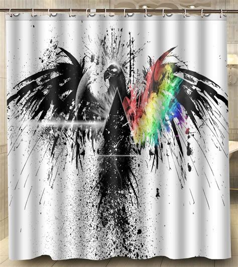pink floyd curtains 2018 pink floyd bird art album polyester big size