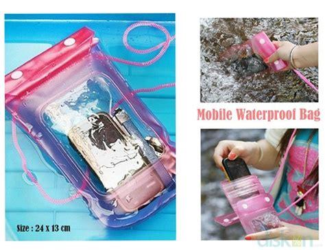 Diskon Waterproof Bag For Smartphone 190x100mm Diskon Mobile Waterproof Bag Yogyakarta Jagonya Diskon