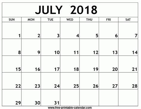 printable july 2018 calendar printable calendar july 2018 flogfolioweekly com