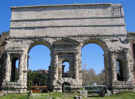 roma porta maggiore rome porta maggiore larger gate lazio italy
