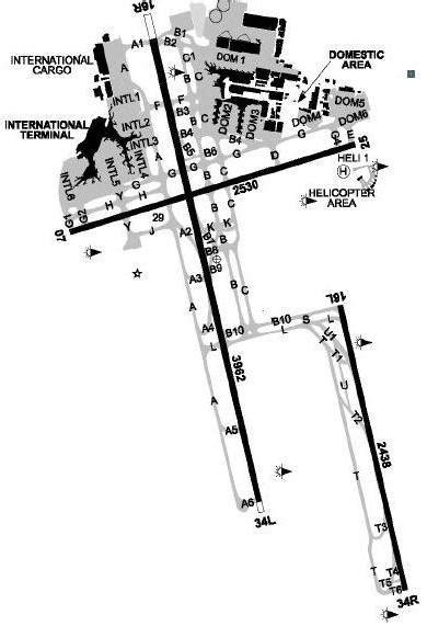 sydney airport diagram sydney guide