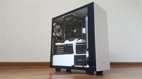 Nzxt S340 White white nzxt s340 elite build pcmasterrace