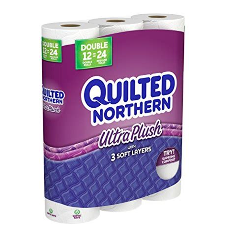 Quilted Northern 12 Pack by Quilted Northern Ultra Plush Toilet Paper Pack Of 12