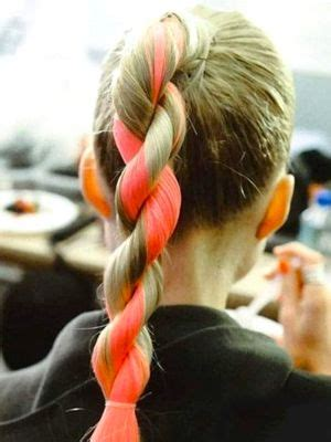 These Trends Twisted My by 12 Ponytail Alternatives Twisted Ponytail Neon And Twists