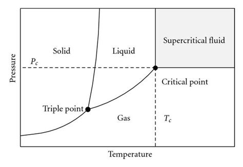 supercritical co2 phase diagram preparation of porous biodegradable polymer and its