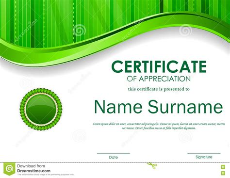 Certificate Of Appreciation Template Publisher by Certificate Of Appreciation Template Publisher Images