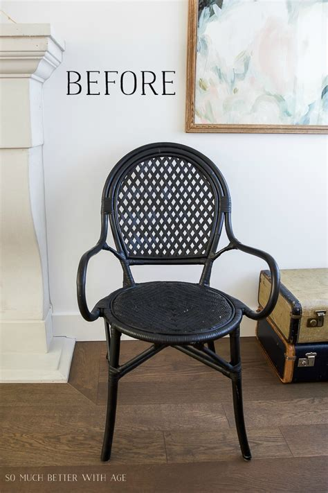 bistro chairs diy bistro chair so much better with age