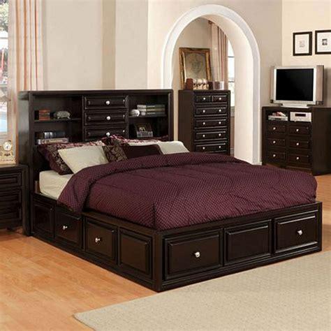 wood queen platform bed with drawers espresso wood platform captain bed drawers queen king