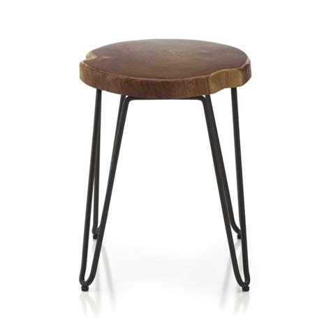 Stool Etymology by Origin 18 Quot Stool Crate And Barrel Entry Ways Crate
