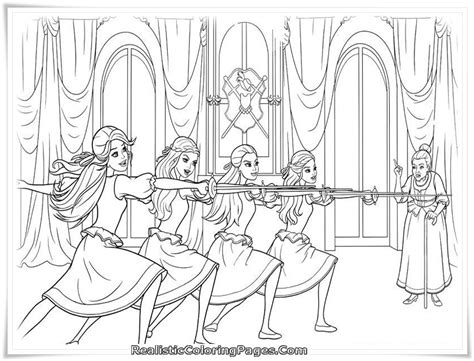 barbie musketeers coloring pages printable coloring pages barbie three musketeers coloring