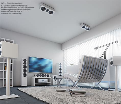 Atmos Lautsprecher Decke by Wandlautsprecher Nuline Ws 14 Nubert