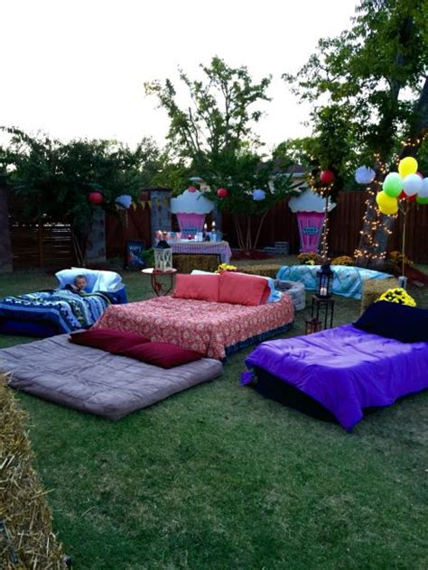 backyard movie ideas what you need for an outdoor movie night