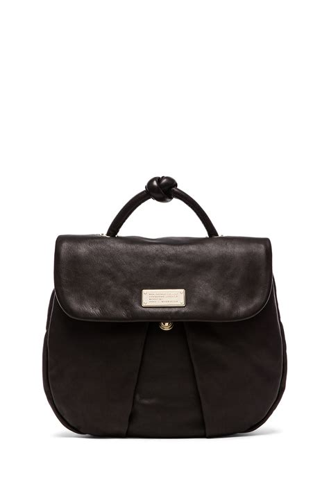 Marc Black marc by marc marchive backpack in black lyst