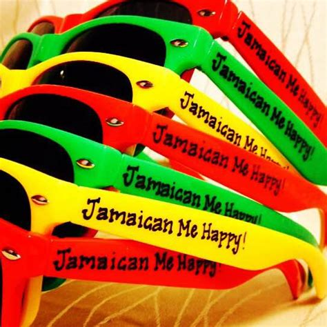 Jamaican Decorations by Jamaica Jamaican Wedding Vacation Sunglasses For Or