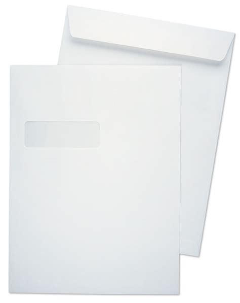 9x12 envelope template 9 x 12 catalog 28lb white wove horizontal window 1