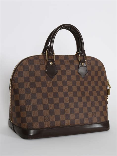 Ultra Exclusive Bags From Louis Vuitton by Louis Vuitton Alma Pm Damier Ebene Canvas Luxury Bags