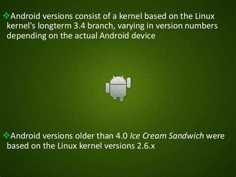 android kernel version android glass