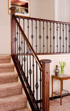 indoor banister 1000 images about stairs on pinterest iron balusters iron spindles and wrought iron