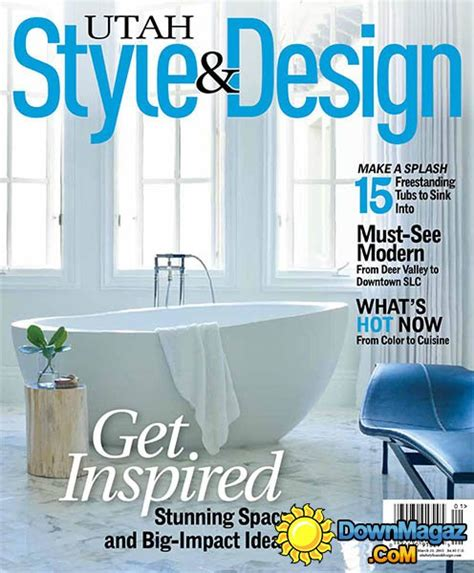 utah home design magazine utah style design winter 2015 187 download pdf magazines