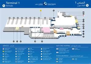 Car Rental Dubai Airport Terminal 1 Dxb Airport Map Dxb Terminal Map