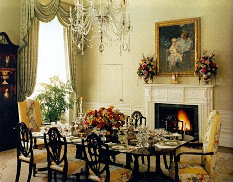 Dining Room Pictures by Family Residence Dining Room White House Museum