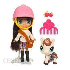 hasbro littlest pet shop w szkocka kratke lalka konik