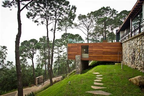 Forest House 15 Hillside Homes That Know How To Embrace The Landscape