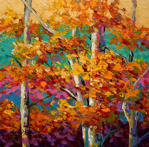 Canadian Home Design Blogs abstract autumn iii painting by marion rose
