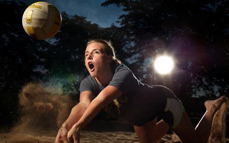 sporty girl wallpaper beautiful beach volleyballer girl 2013 hd desktop