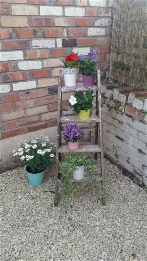 Wooden Step Planter by 1000 Images About Wooden Step Planters On