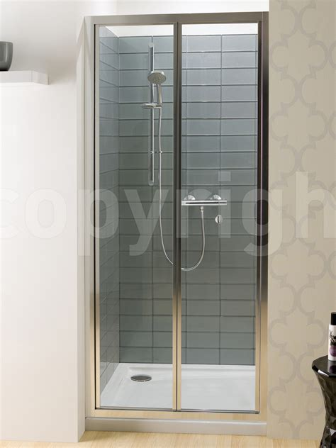 Simpsons Edge Bi Fold Shower Door 900mm Shower Folding Doors