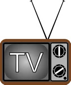 Tv On by Clipart Television Tv