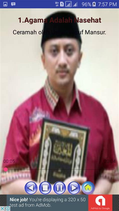 download kumpulan mp3 ceramah ustad yusuf mansur contoh ceramah dari ustad terkenal 600 tips