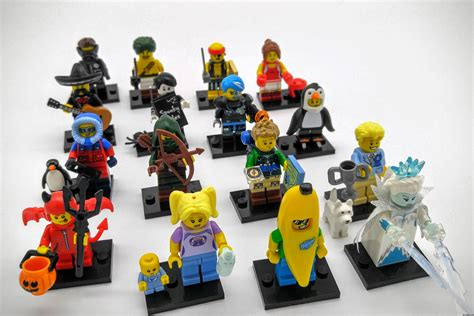 Lego Seri 16 Review And Images Lego Minifigures Series 16 71013 With
